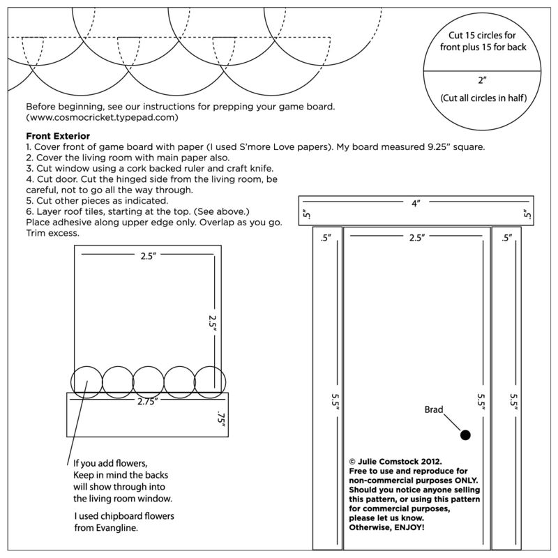 Doll House_Julie Comstock_free pattern