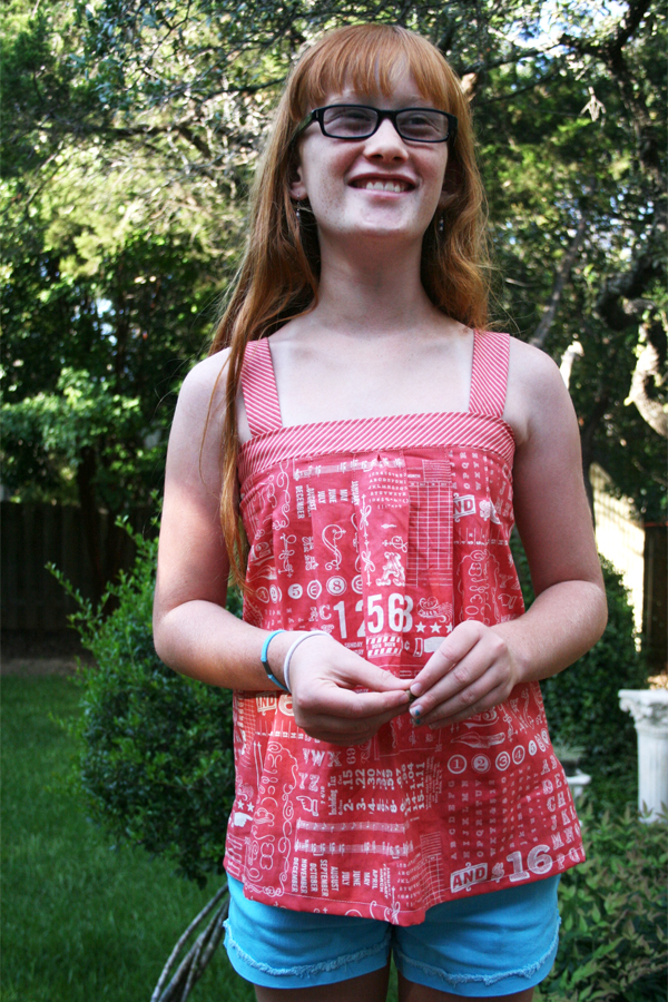 Summer Tank Tops1_Odds and Ends fabric by Julie Comstock