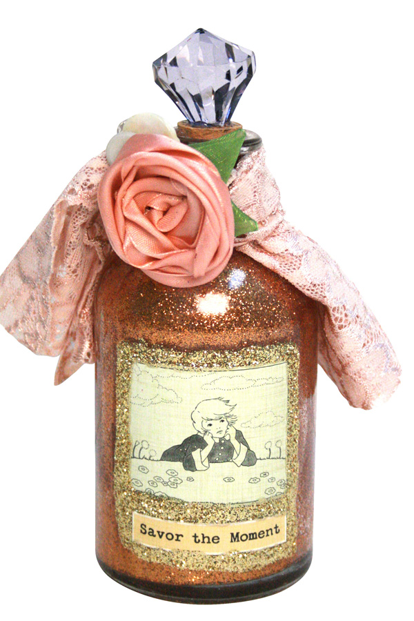 Art Angel_Glitter Bottle2_Cosmo Cricket