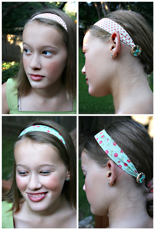 Easy Sew, Reversible Headband | Julie Comstock
