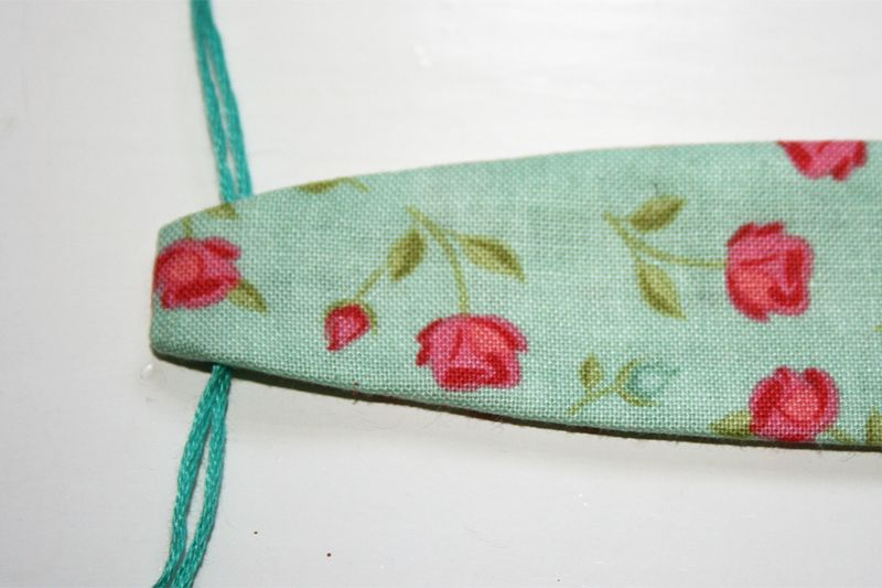 Sewing a Reversible headband 2