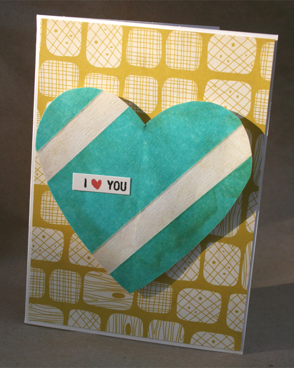 Masking Tape Heart | Cosmo Cricket