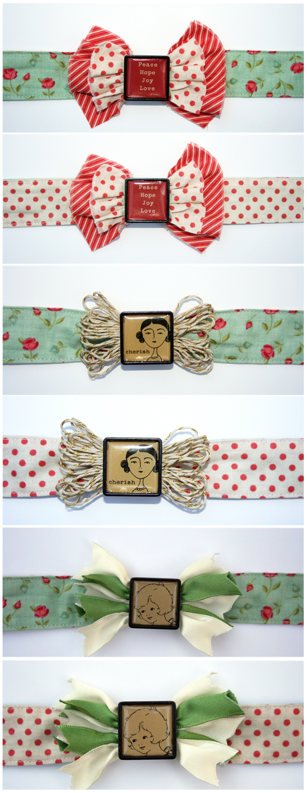 Simple Reversible Headbands with Changeable Accents | Julie Comstock