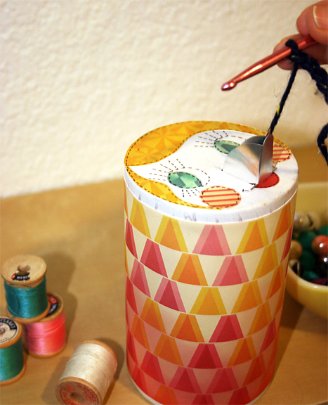 Salt Container Yarn Keeper | Cosmo Cricket