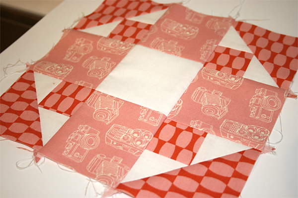 Friendship Block detail | Moda Fabrics