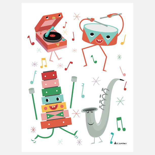 Eric Comstock | Illustration