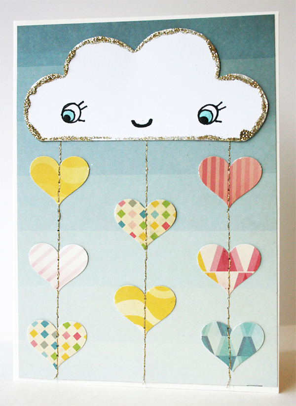 Pouring Love Card   Julie Comstock