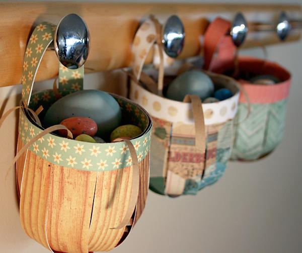 Paper Baskets Tutorial | Cosmo Cricket