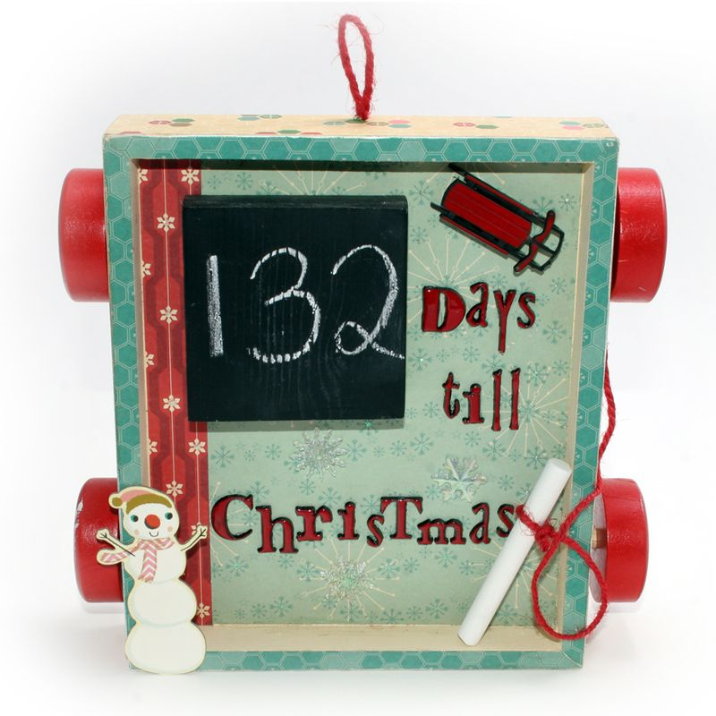 Chalkboard Christmas Countdown | Cosmo Cricket