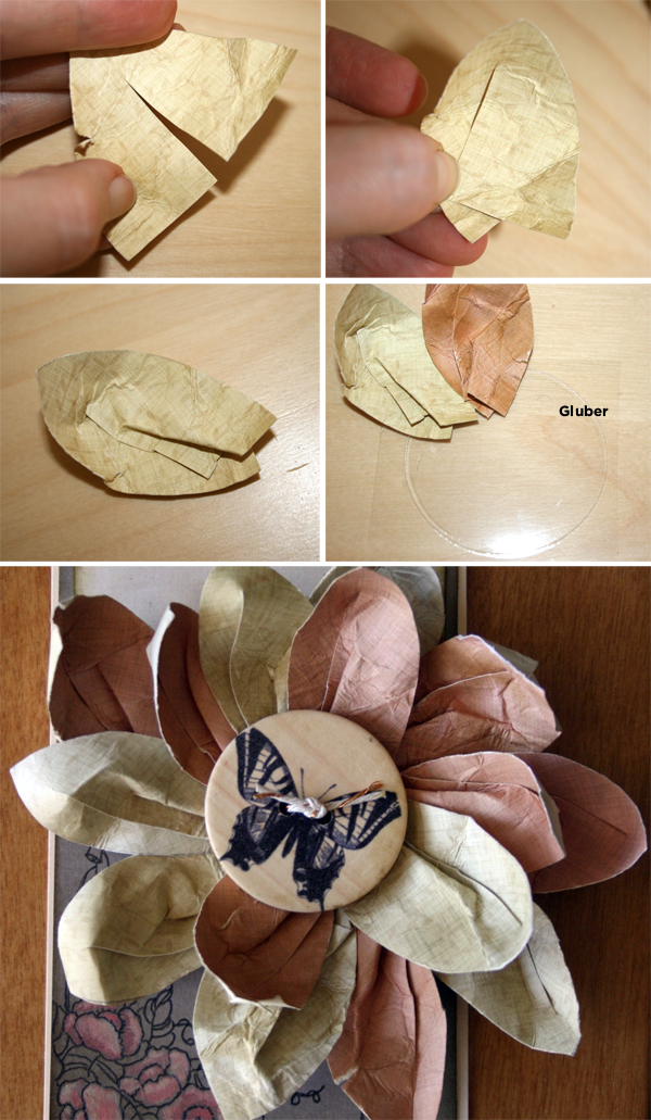 Paper Flower with Gluber | Cosmo Cricket