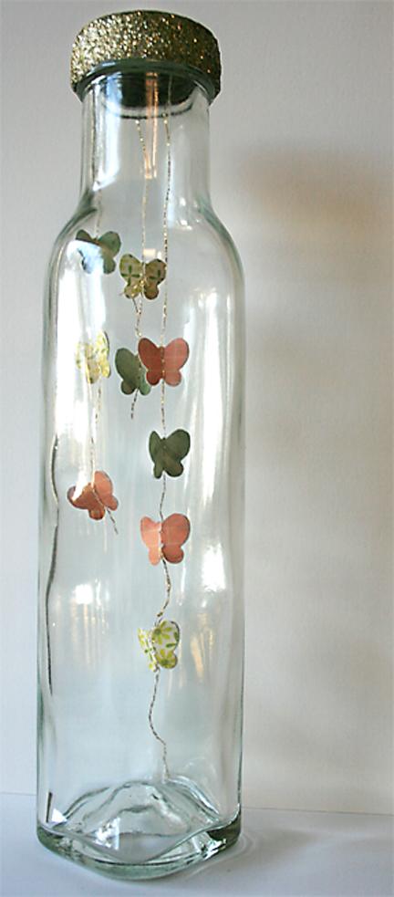Butterflies in a Bottle | Jar Craft | Cosmo Cricket