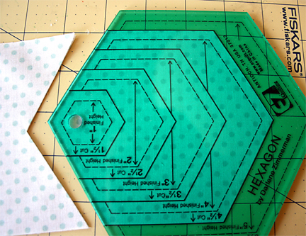 How to Cut Hexagons | Julie Comstock