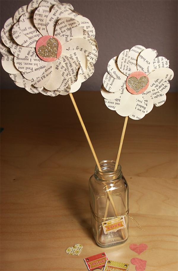 Tutorial  | Paper Flowers in Jar Craft