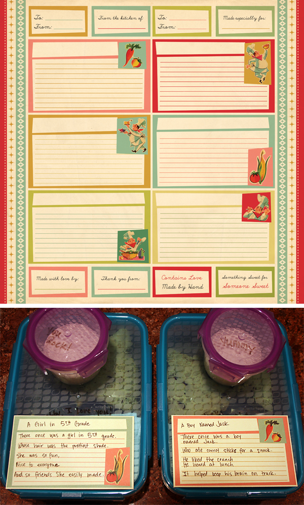 TV Dinner Note Cards | Cosmo Cricket