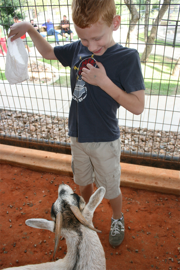 Jack with goat