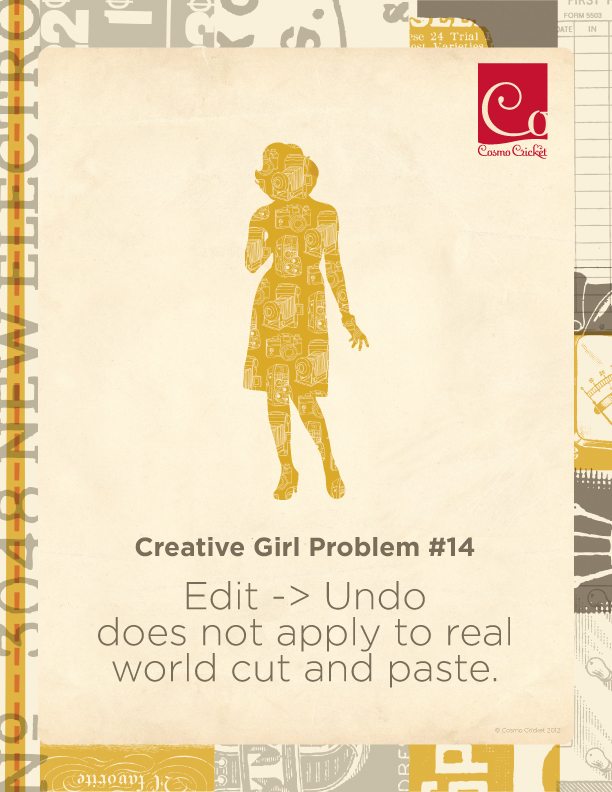 Creative Girl Problem 14 | Cosmo Cricket