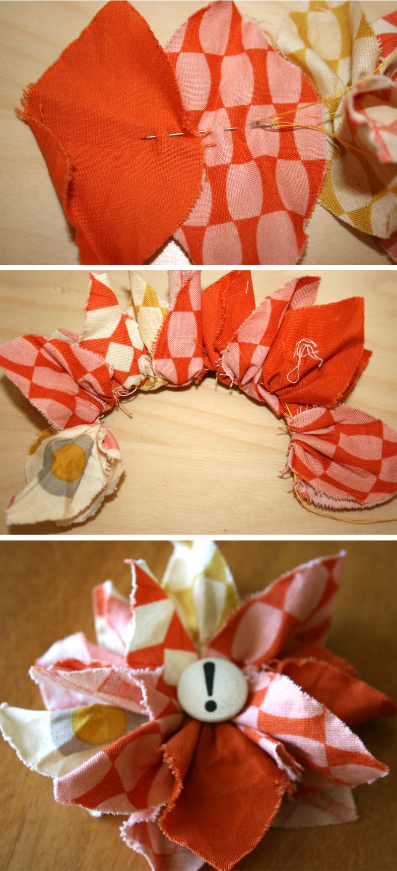 Fabric Flower | 2TWENTY-THR3E fabric