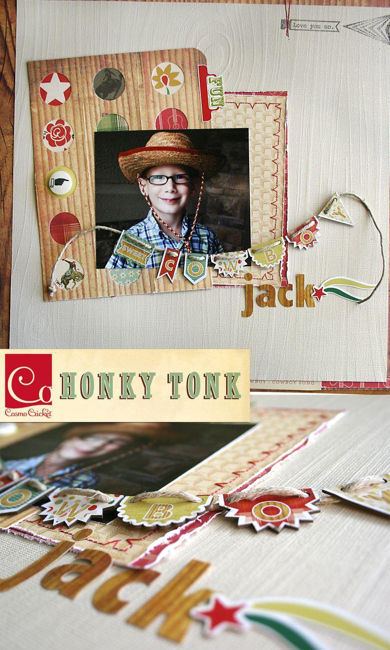 Honky Tonk | Sneek | Cosmo Cricket