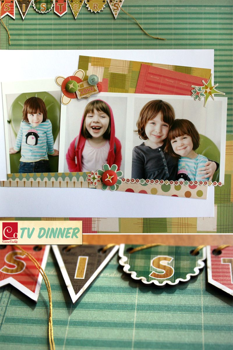 Sisters | TV Dinner Collection | Cosmo Cricket | lres