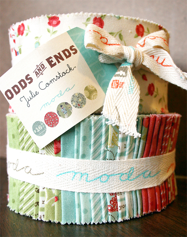 Odds and Ends Jelly Rolls | Julie Comstock