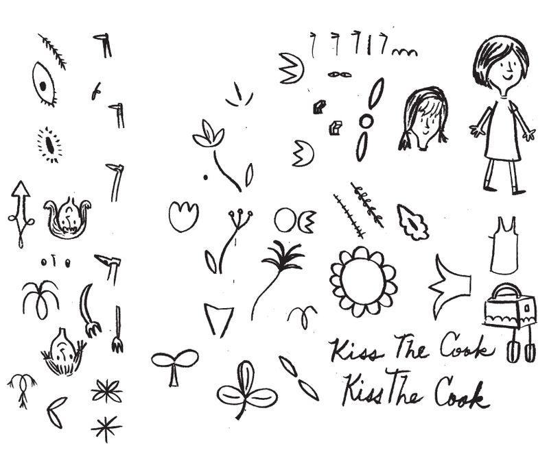 Eric Comstock Sketchbook   Cosmo Cricket