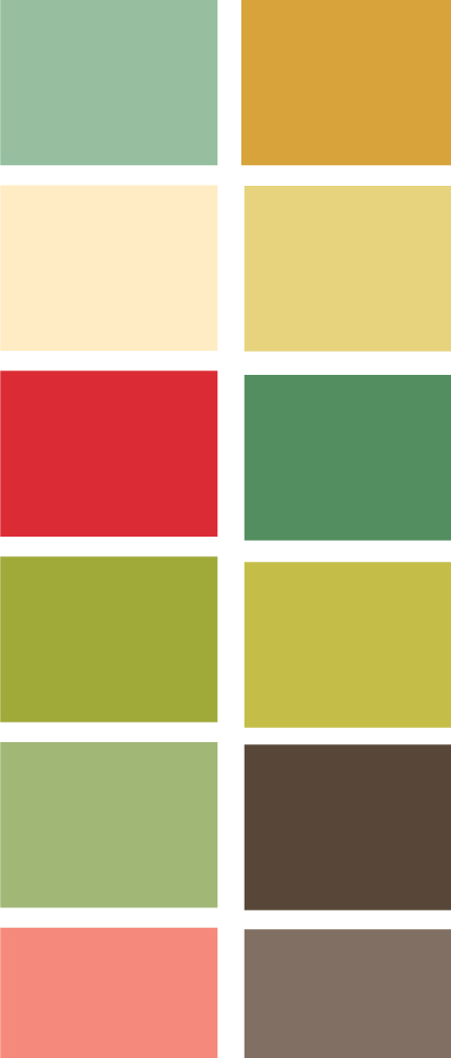 Honky Tonk color palette | Cosmo Cricket