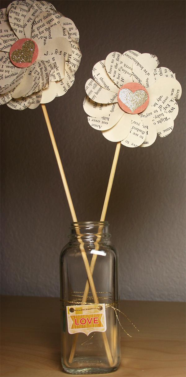 Tutorial  | Paper Heart Flowers in Jar Craft