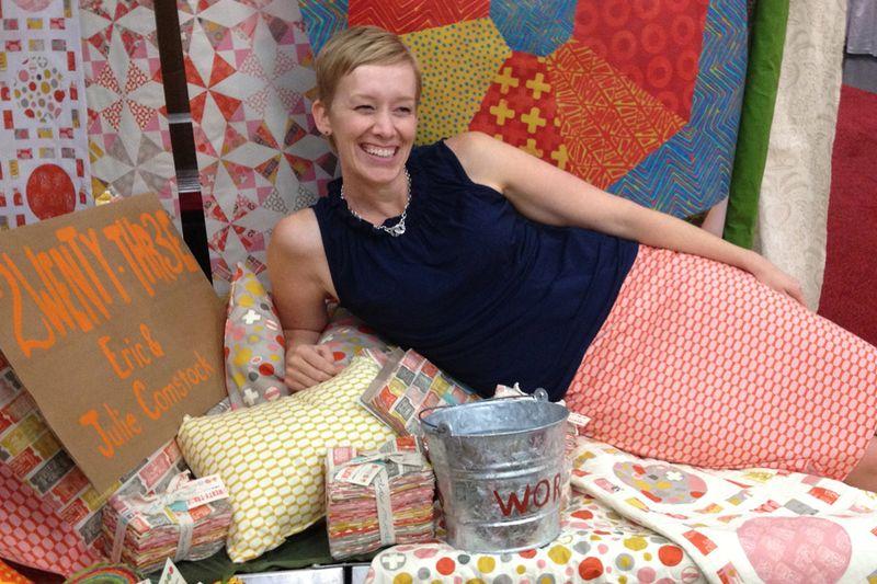 Julie Comstock | quilt market 2013 | moda fabrics