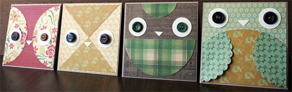 Owl Card Designs | Julie Comstock