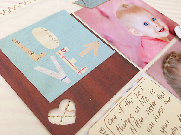 Scrapbooking with scraps | Cosmo Cricket