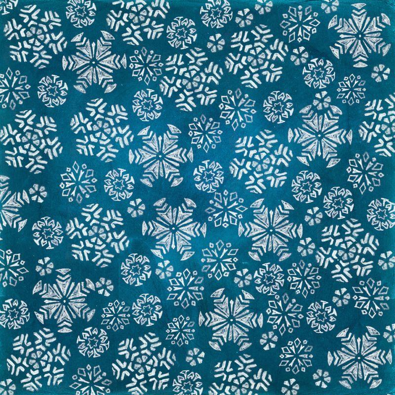 Snowflake Chalk Art | Cosmo Cricket