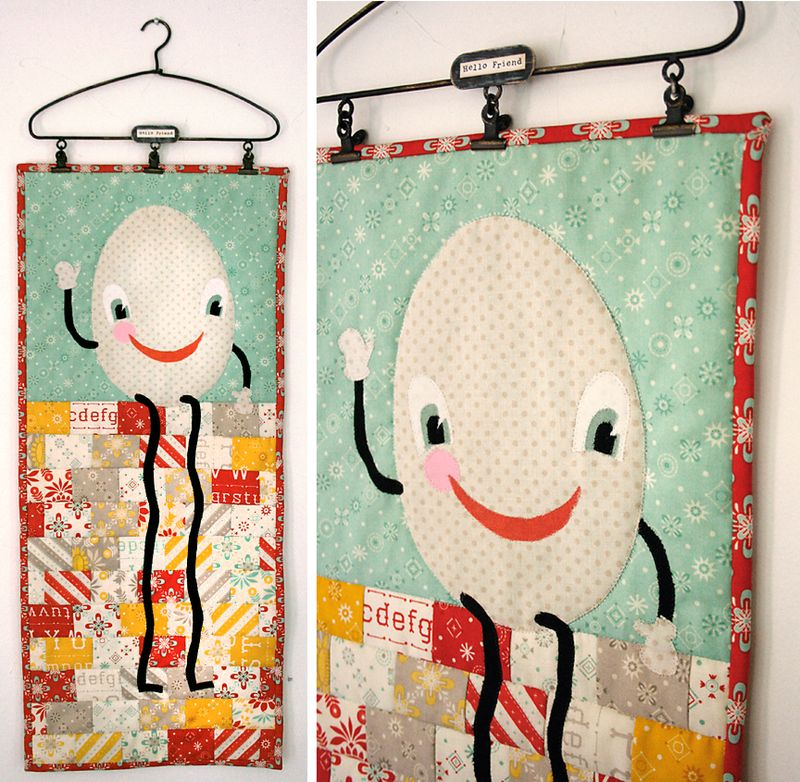 Humpty Dumpty by Julie Comstock for Moda