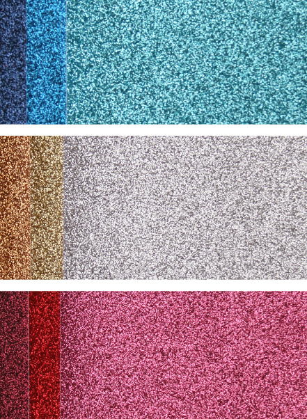 Adhesive Glitter Sheets Colors by Cosmo Cricket