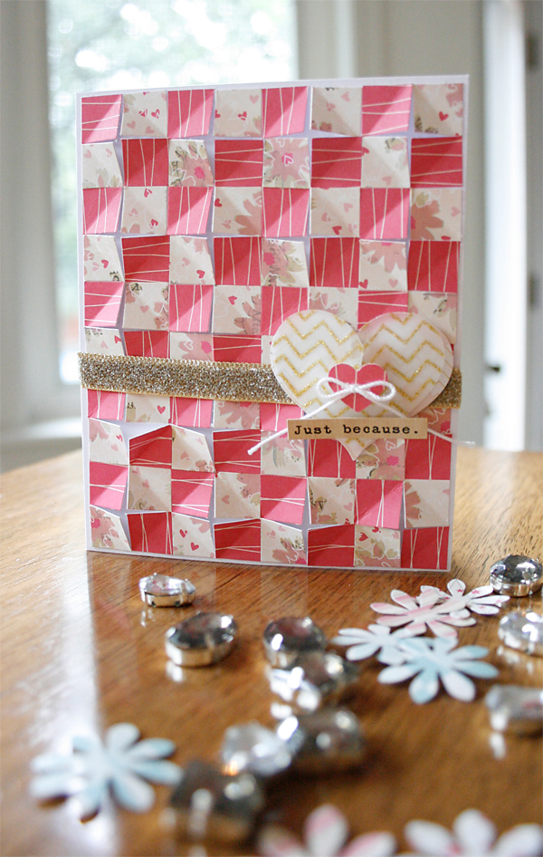 Folded Paper Squares | Cosmo Cricket