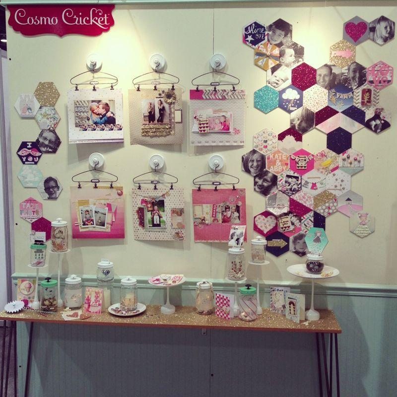 Cosmo Cricket Creative Girl Wall CHAS13