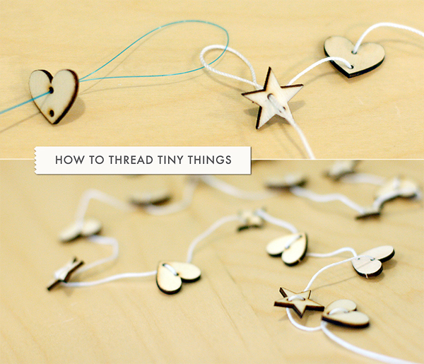 How to thread tiny things