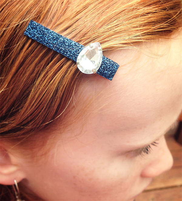 DIY Jeweled Hair Clip | Cosmo Cricket