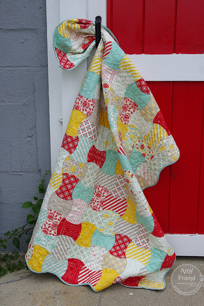 Amy Friend's quilt with Baby Jane fabric