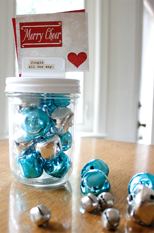 Bells in Jar | Cosmo Cricket mason jar lids