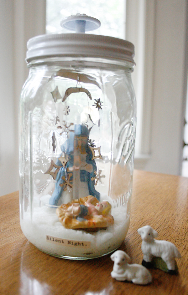 Mason Jar Nativity | Cosmo Cricket