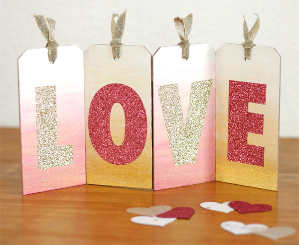 Love Canvas Tags | Cosmo Cricket