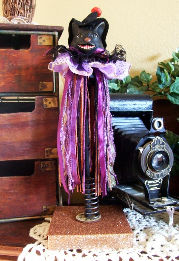 Halloween Cat | Donna Budzynski