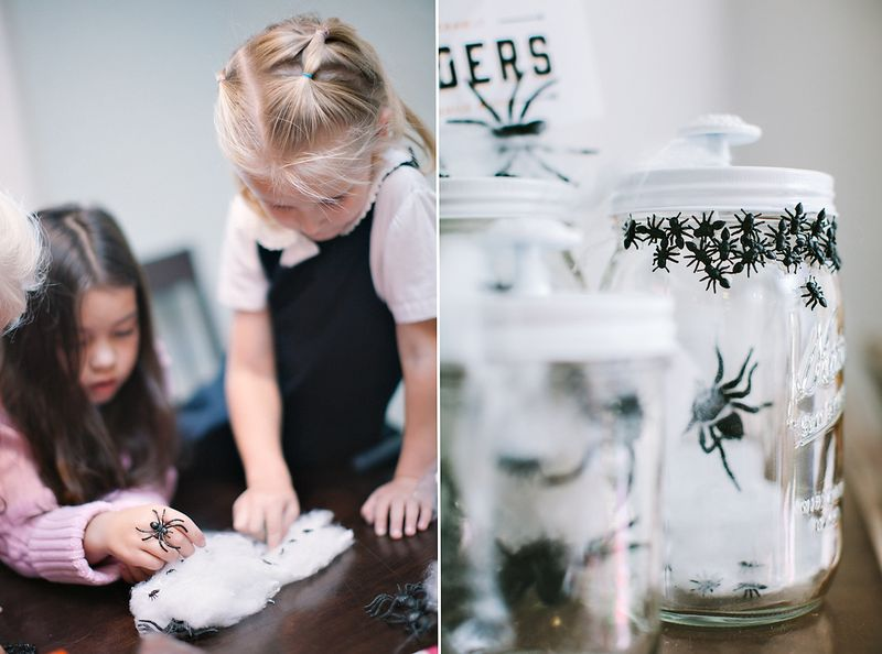 Mason Jar Craft | Halloween Family Fun