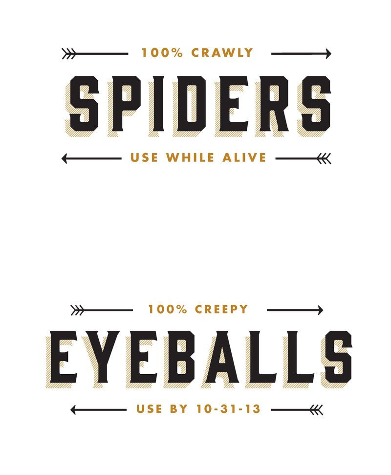 Free Halloween Lable Printable | Cosmo Cricket