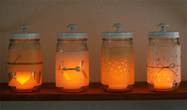 diy mason jar lighting. DIY Mason Jar Lanterns. Candles | Cosmo Cricket Diy Lighting