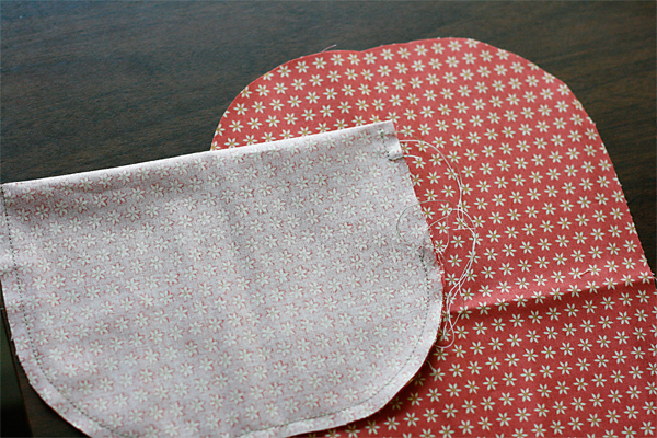Making a pocket by Julie Comstock