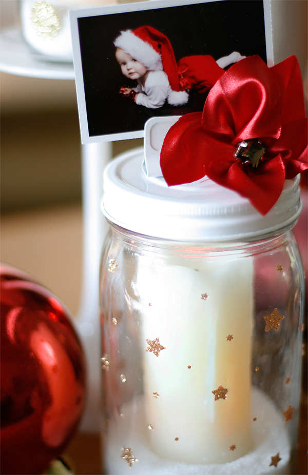 Christmas Mason Jar Votive | Cosmo Cricket