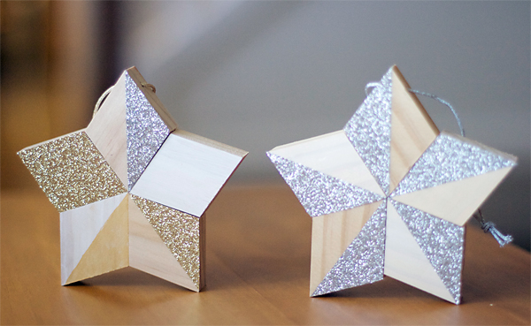 Wooden Five Point Star DIY