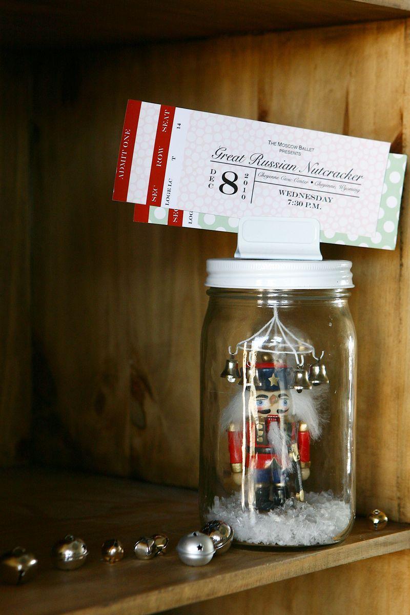 Nutcracker Jar Gift