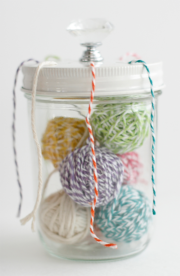 Ribbon Jar Lid | Cosmo Cricket